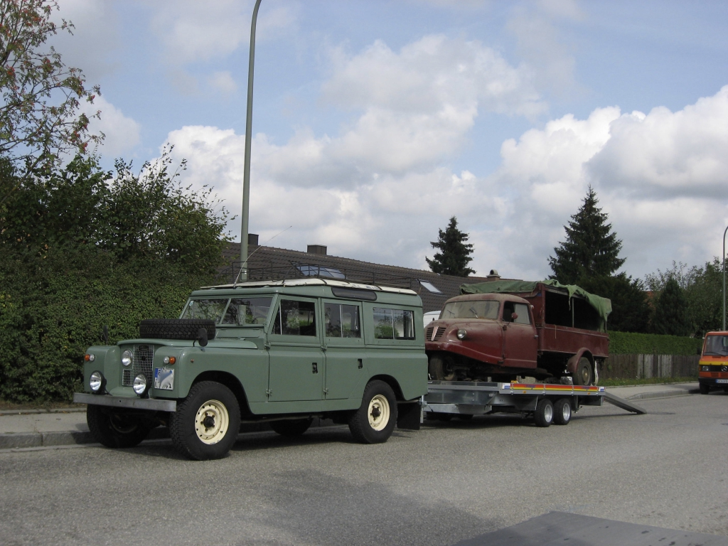 Land Rover Serie IIa Transport